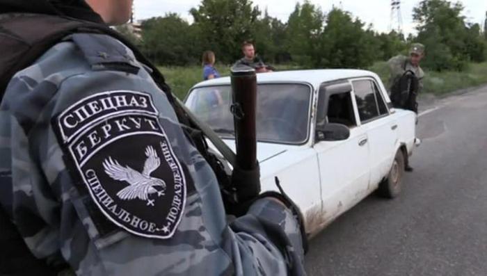 Луганский «Беркут» не даёт спуску украинским диверсантам