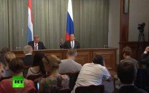 Пресс-конференция Сергея Лаврова и главы МИД Люксембурга Жана Ассельборна — трансляция