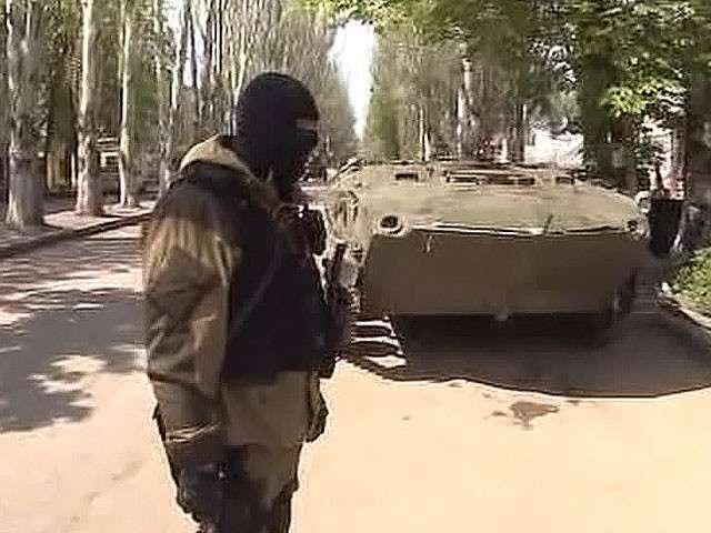 Самооборона Славянска: огонь по городу временно прекращён