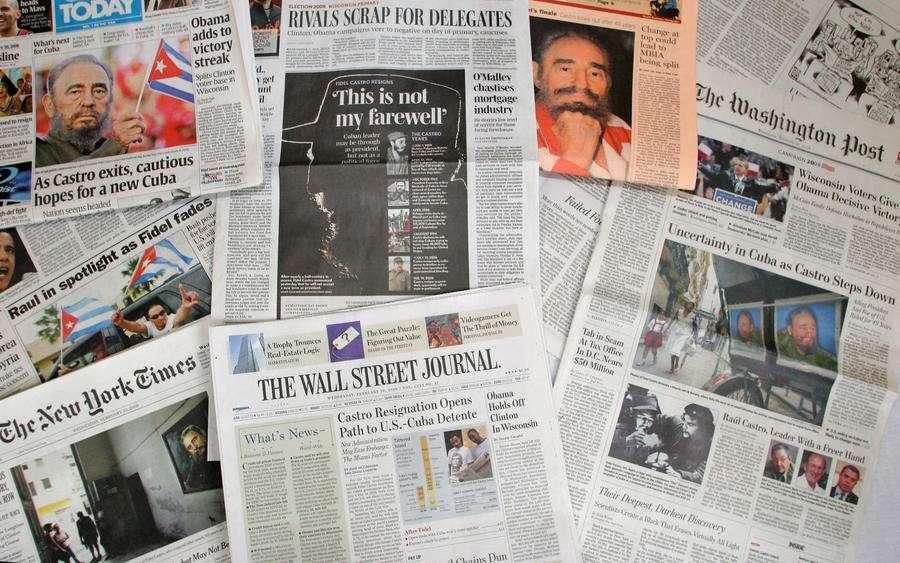 Ситуация со свободой прессы в США стала самой худшей за последнее десятилетие