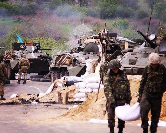 Хунта штурмует Славянск - хроника событий