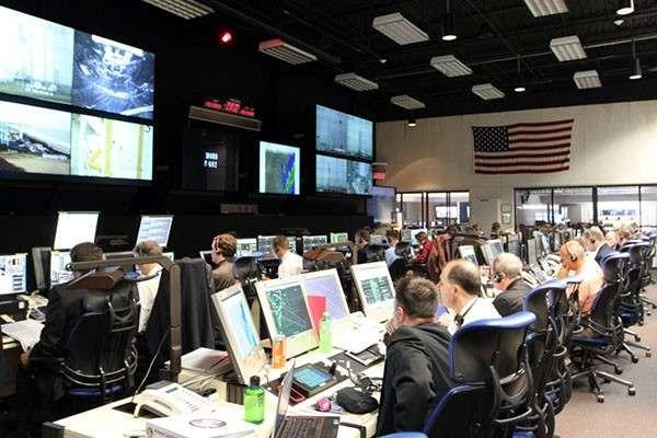 Центр управления полётами НАТО в Голландии