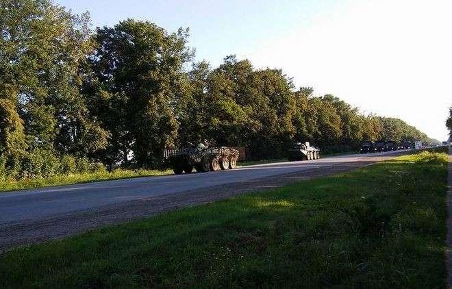 Бандиты из «Правого сектора» блокируют выезды из Киева