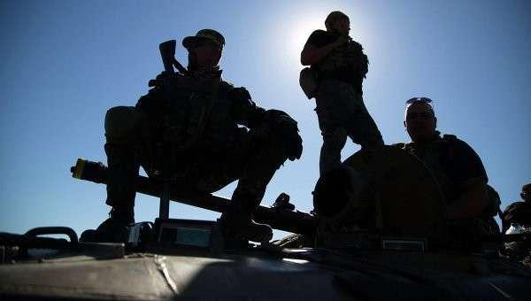 Солдаты ВСУ,архивное фото