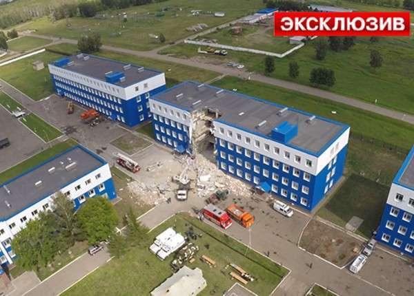 Ещё мнение о причинах обрушения казармы в Омске