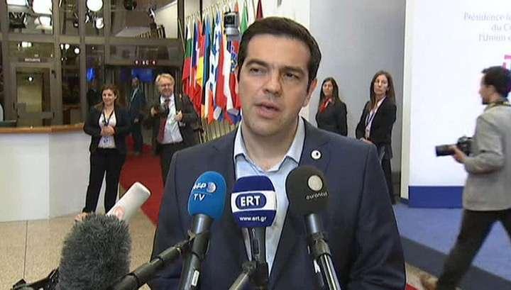 Ципрас обвинил Германию, Нидерланды и Прибалтику в попытке госпереворота в Греции