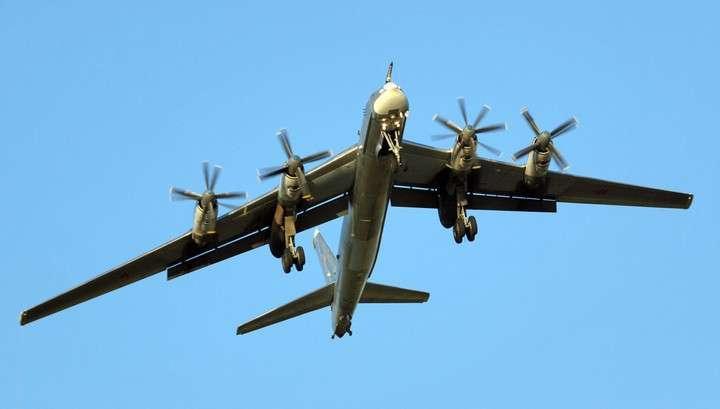 В Хабаровском крае упал стратегический бомбардировщик Ту-95