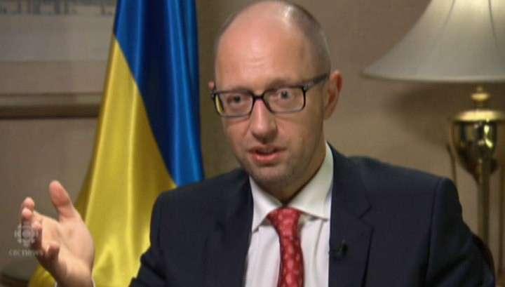 Яценюк прикидывается умным и называет Украину «полем битвы за светлое будущее»