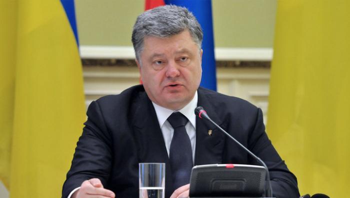 Самозванец Порошенко говорит, что Украина останется единой, особого статуса Донбасса не будет