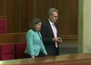 Виктория Нудельман и посол Пайетт поруководили своими куклами в Раде