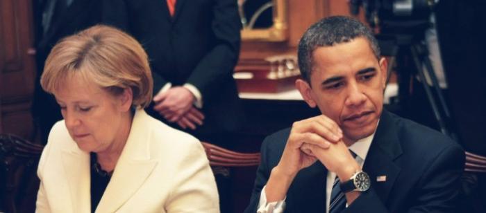 Меркель отказалась принимать розово-голубые ценности иудейской верхушки США