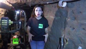 Корреспондент RT спустилась в тоннель, по которому сбежал наркобарон Гусман