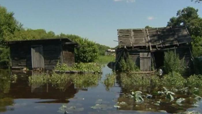 В Хабаровске паводок, вода отступит только через три-четыре дня