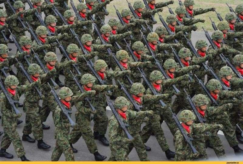 Япония стремительно милитаризируется