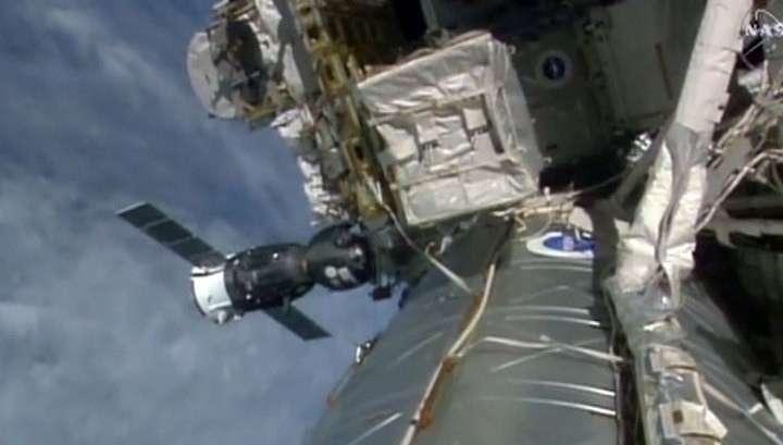 Космический корабль «Союз» доставил на МКС новый экипаж