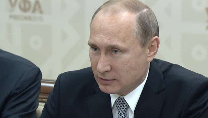 Владимир Путин обсудил с Советом Безопасности реализацию минских соглашений