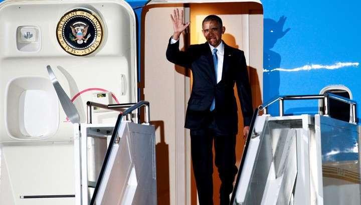 В Кении Барак Обама поужинал с бабушкой Сарой