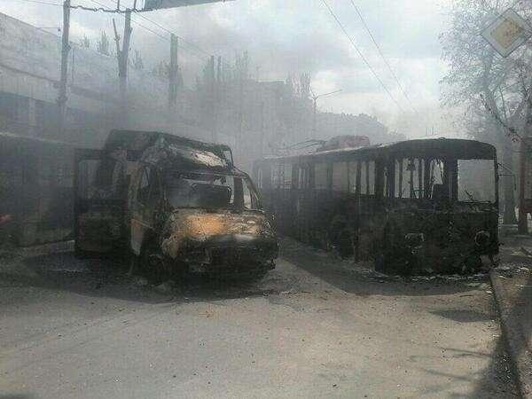 Восток Украины. Утро 4 мая 2014