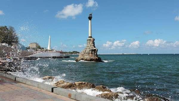 Памятник Затопленным кораблям в Севастополе, Архивное фото