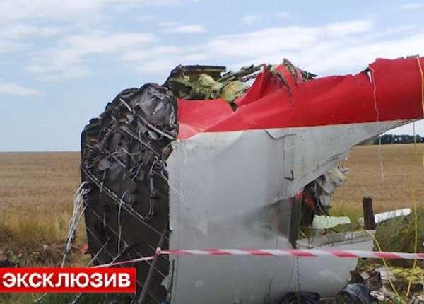 На борту «Боинга», упавшего в Донбассе, был взрыв