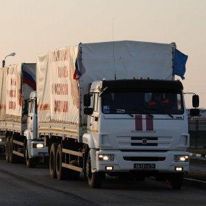 Очередной российский гуманитарный конвой отправился в Донбасс