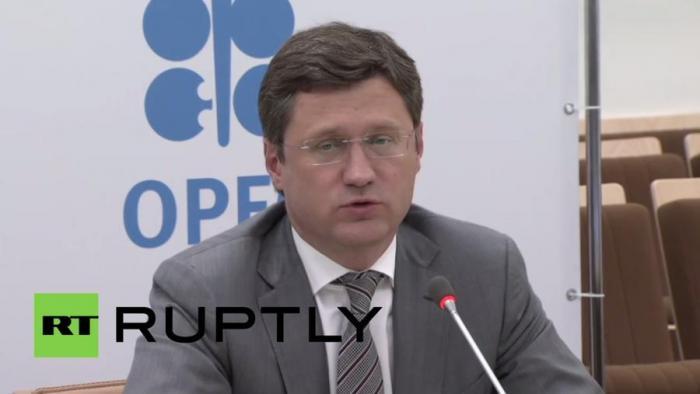 Пресс-конференция Александра Новака и главы ОПЕК — прямая трансляция