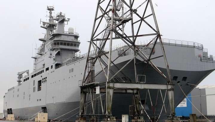 Россия и Франция согласовали размер и сроки выплаты компенсации за «Мистрали»