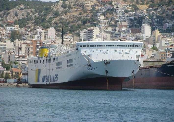 Грузопассажирский паром «Kriti I» прибыл в Севастополь