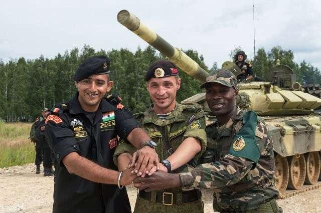 Первые в истории Армейские международные игры стартуют в России