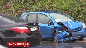 Два человека пострадали в ДТП с машиной Управления делами президента