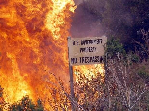Из-за сильнейшей засухи Калифорния охвачена пожарами
