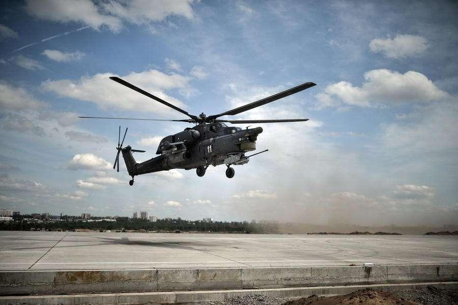 Вертолёт Ми-28 потерпел крушение на авиашоу под Рязанью, один из пилотов погиб