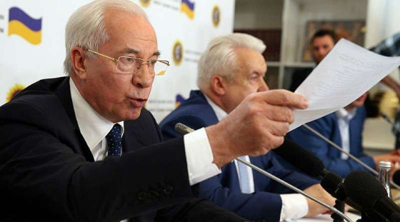 В соцсетях поддержали Комитет Спасения Украины и Николая Азарова