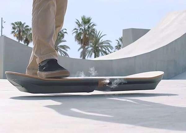 Сегодня Lexus презентует летающий скейт — ховерборд
