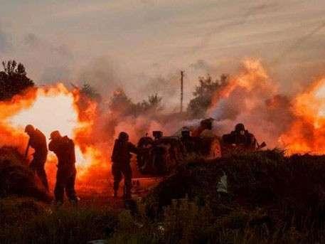 Каратели опять обстреливали ночью Донецк