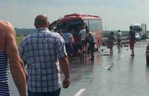 Водитель разбившегося автобуса рассказал о причинах катастрофы