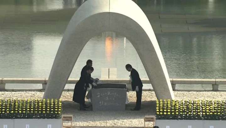 70 лет со дня бомбардировки: Япония чтит память жертв Хиросимы