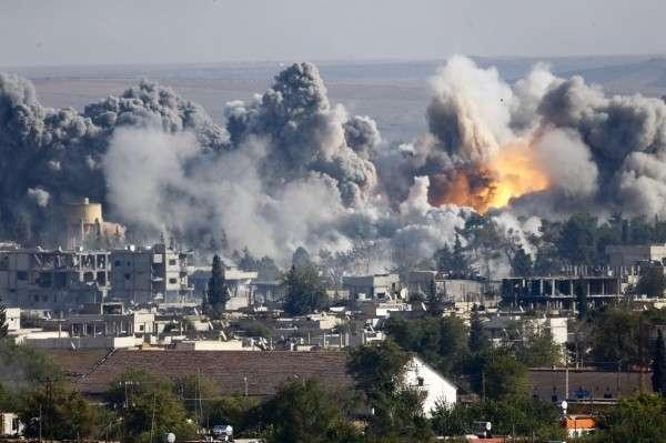 Американские бандиты вновь начинают нападать на Сирию