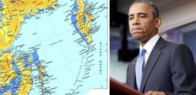 Берега попутали? США ввели санкции к Охотскому морю