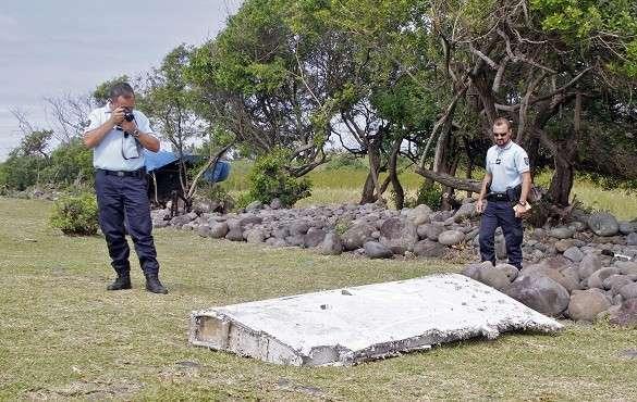 Найденный обломок Боинга 777