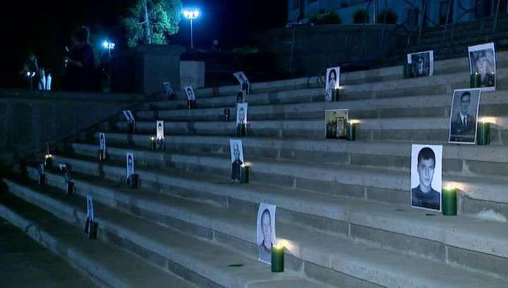 Цхинвал вспоминает трагические события августа 2008 года