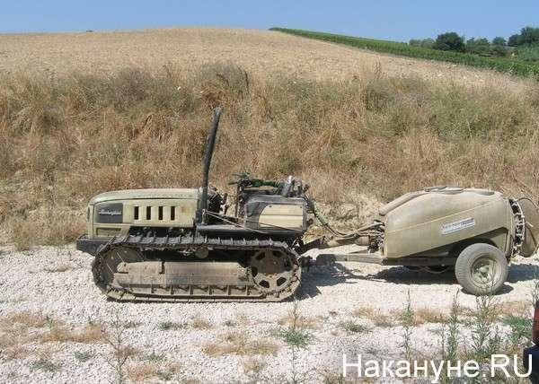 трактор, Ламборджини, Италия Фото: Накануне.RU