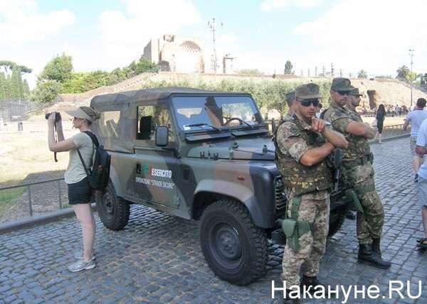 полиция, Рим, Италия Фото: Накануне.RU