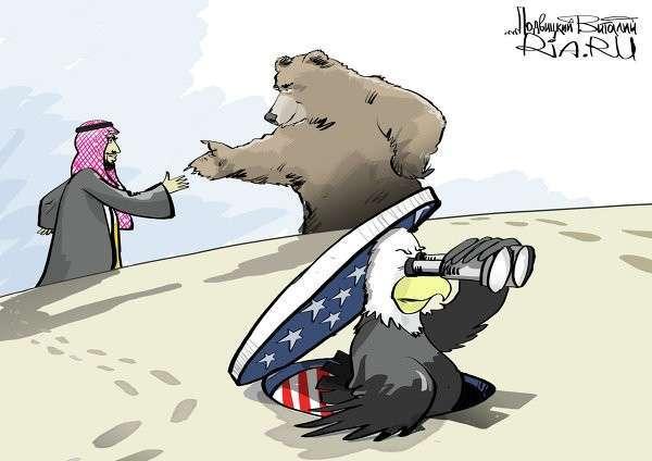 Россия и Саудовская Аравия обыграли США на Ближнем Востоке