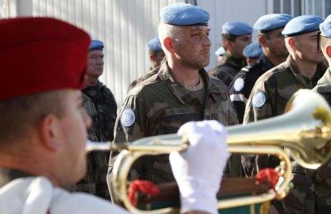 Французские миротворцы