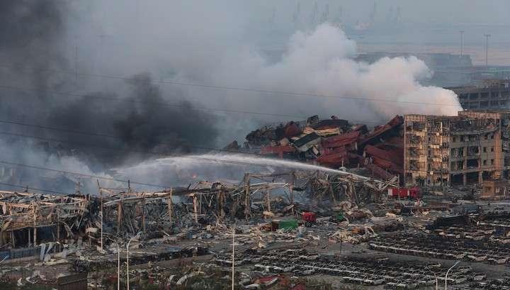Видео чудовищных разрушений после взрыва в Китае
