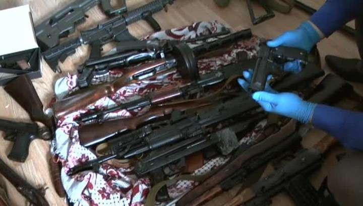В центре Киева найден схрон с оружием и боеприпасами