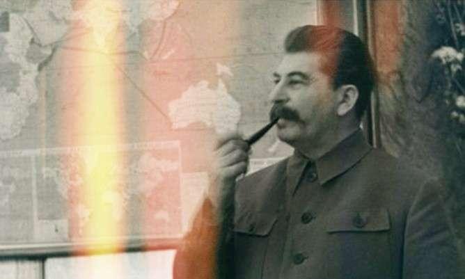 Политюмор. Круглый стол у Сталина