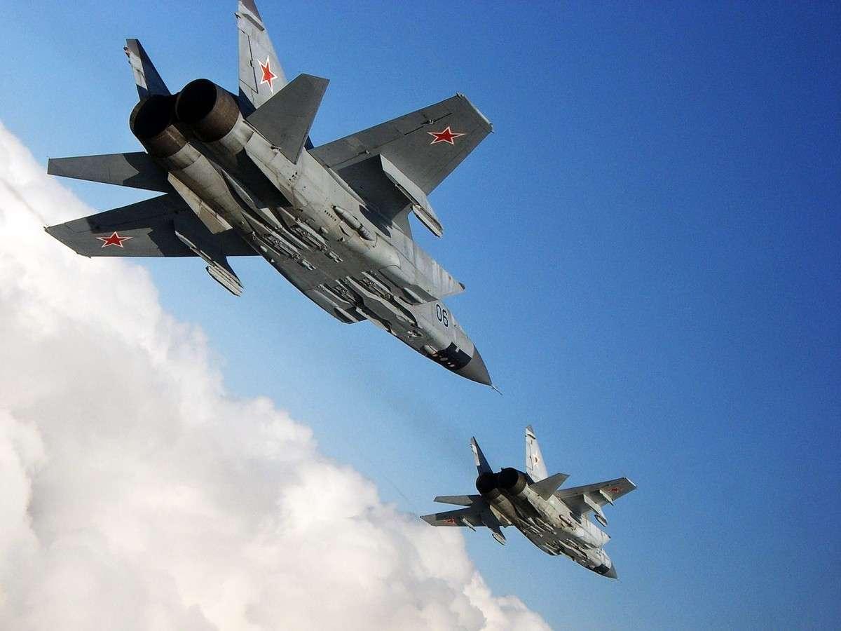 Россия поставила Сирии шесть истребителей Миг-31Э