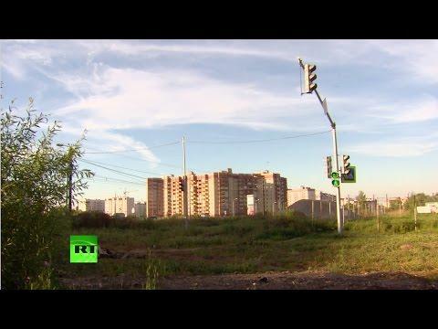 В Ярославле обнаружили светофор, установленный на пустыре без дорог